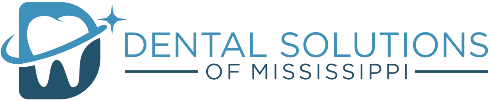 Dental solutions of mississippi logo