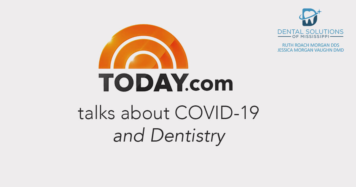 Today.com talks about covid 19 and dentistry