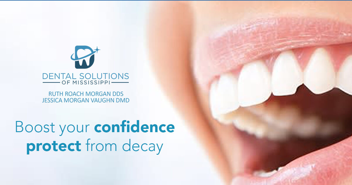 Boost your confidence protect from decay
