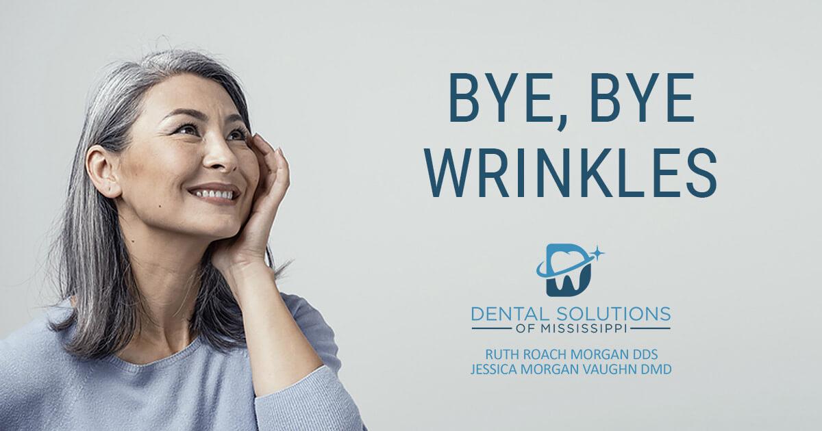 bye bye wrinkles