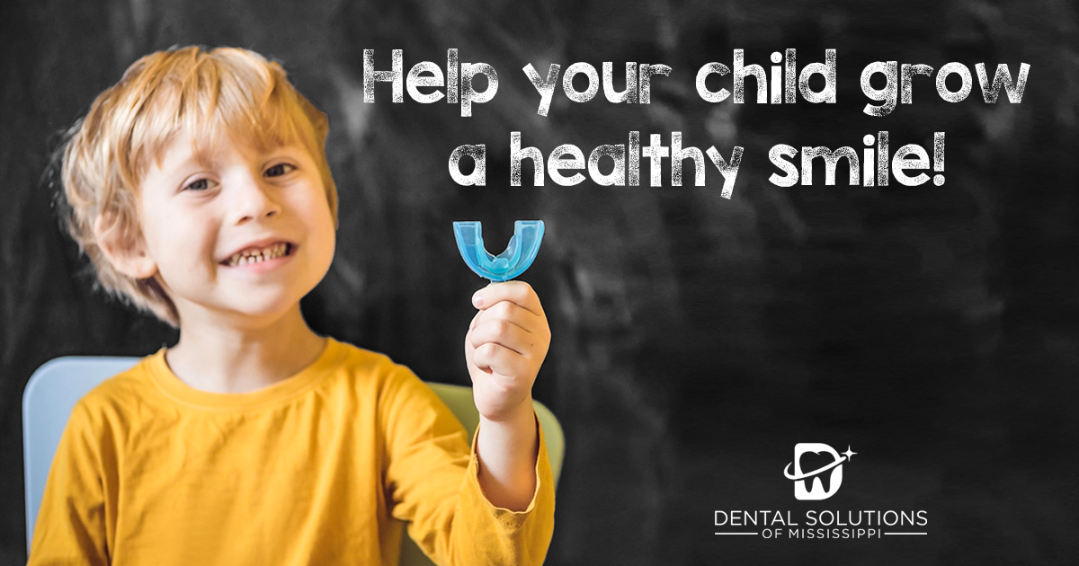 Help your child grow a healthy smile