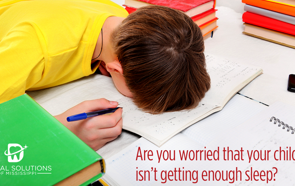 Are you worried that your child isn't getting enough sleep?