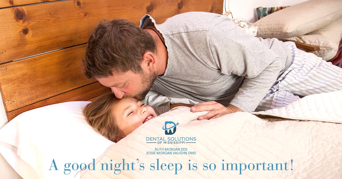 A good nights sleep is so important