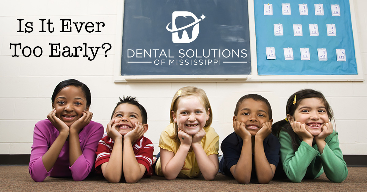 Is it ever too early (Dental blog)