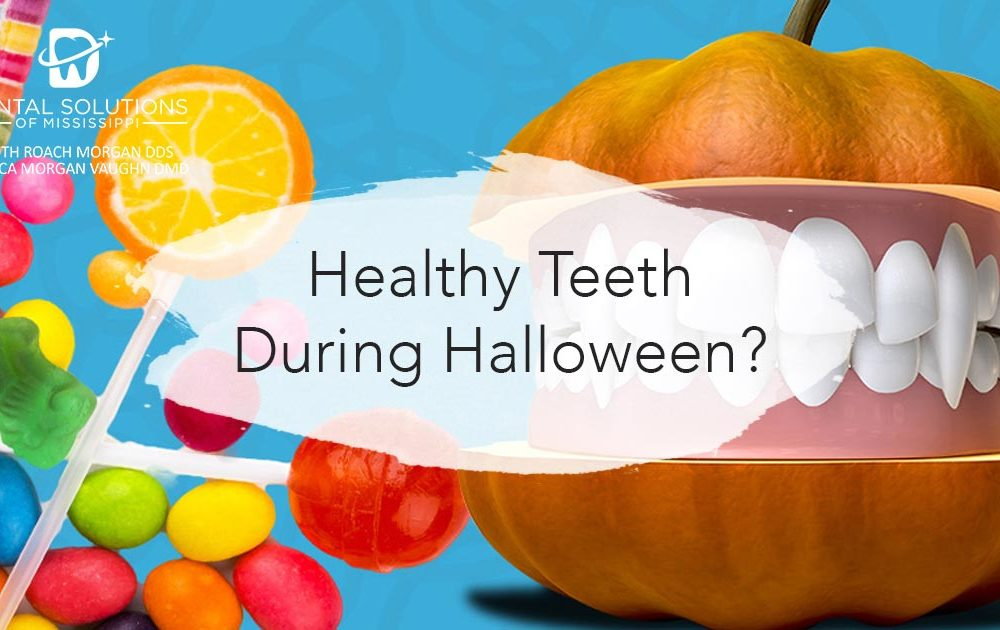 Healthy teeth during halloween